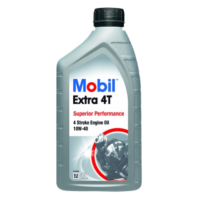 Huile moteur Mobil Extra 4T 10W40