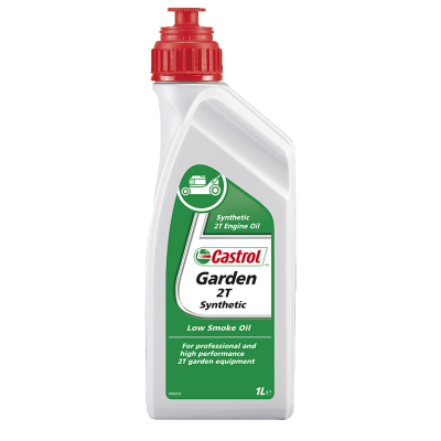 Huile Motoculture Castrol Garden 2T Synthetic